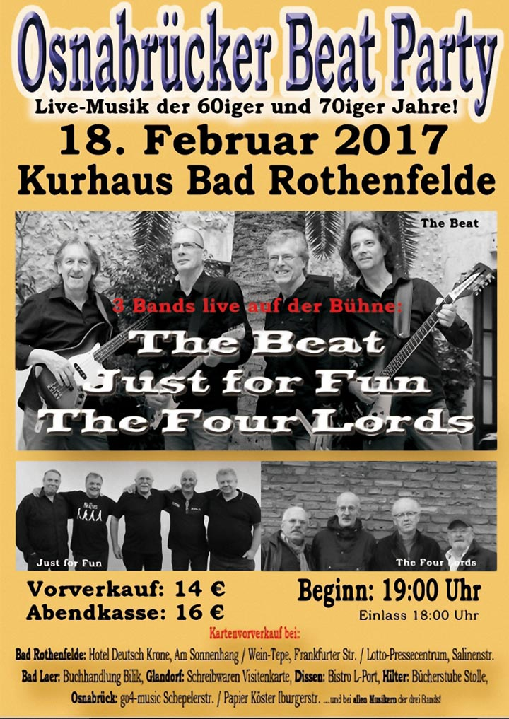 9. Osnabrücker Beat Party / Kurhaus Bad Rothenfelde