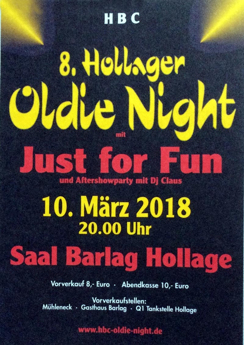 Hollager Oldie Night 2018